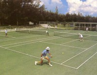 Tennis Courts, Historic Windermere Island Club